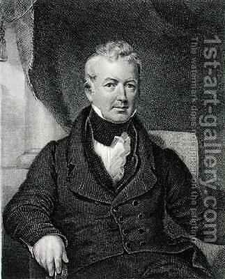 William Gaston 1778-1844 by (after) Cooke, George - Reproduction Oil Painting