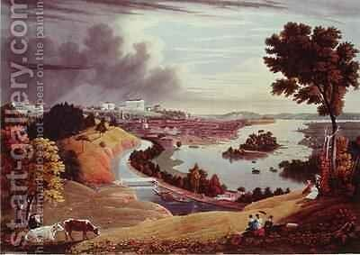 Richmond Virginia by (after) Cooke, George - Reproduction Oil Painting