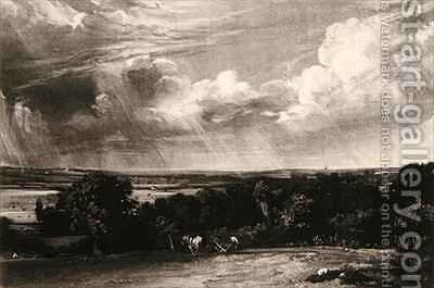 Summerland by (after) Constable, John - Reproduction Oil Painting