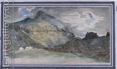 Hellvellyn by (after) Constable, John - Reproduction Oil Painting