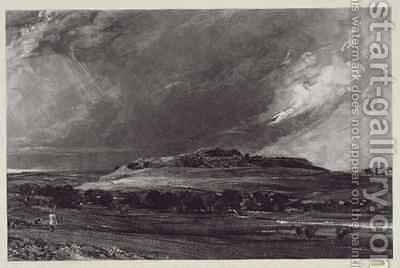 Old Sarum 2 by (after) Constable, John - Reproduction Oil Painting