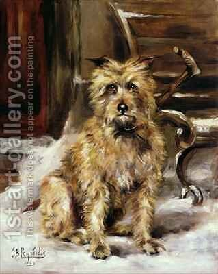 Waiting for Master by Jane Bennett Constable - Reproduction Oil Painting