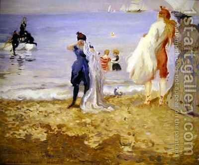 Dieppe by Charles Edward Conder - Reproduction Oil Painting