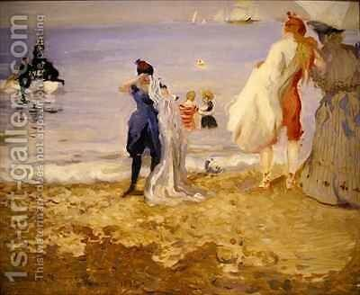 Dieppe 2 by Charles Edward Conder - Reproduction Oil Painting