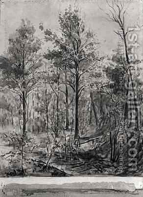 The Undergrowth by Albert Conan - Reproduction Oil Painting
