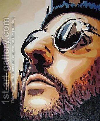 Leon Movie Film by Pop Art - Reproduction Oil Painting