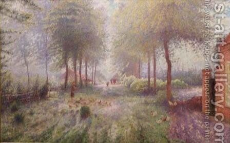 Summer Morning by Adrien Josef Heymans - Reproduction Oil Painting