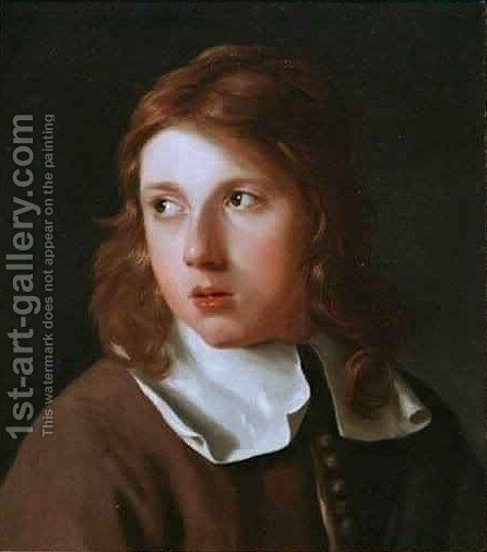 Portrait of a Youth by Michael Sweerts - Reproduction Oil Painting