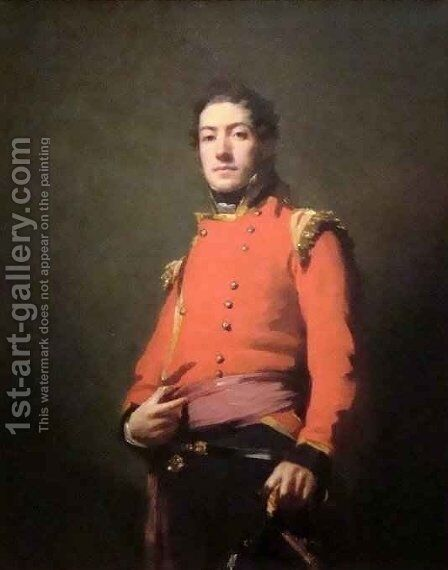 Sir Duncan Campbell Bart by Sir Henry Raeburn - Reproduction Oil Painting