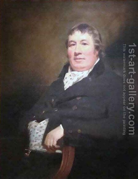 Alexander Carre of Cavers by Sir Henry Raeburn - Reproduction Oil Painting