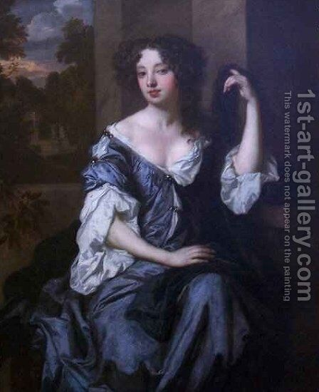 Portrait of Louise de Keroualle Duchess of Portsmouth by Sir Peter Lely - Reproduction Oil Painting