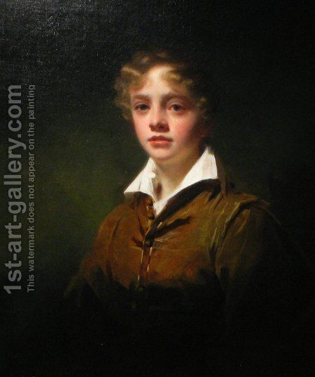Master Wm Blair by Sir Henry Raeburn - Reproduction Oil Painting