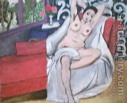 Nude on a Sofa by Henri Matisse - Reproduction Oil Painting