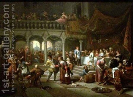 Marriage at Cana by Jan Steen - Reproduction Oil Painting