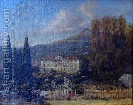 Tiranty House by Jacques Guiaud - Reproduction Oil Painting