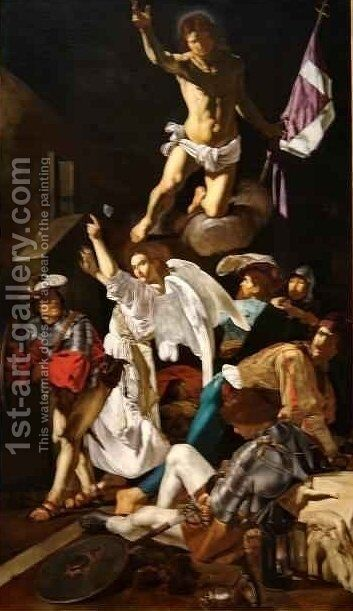 The Resurrection by Caravaggio - Reproduction Oil Painting