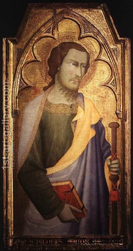 St James the Greater by di Vanni d'Andrea Andrea - Reproduction Oil Painting