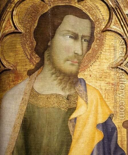 St James the Greater (detail) by di Vanni d'Andrea Andrea - Reproduction Oil Painting