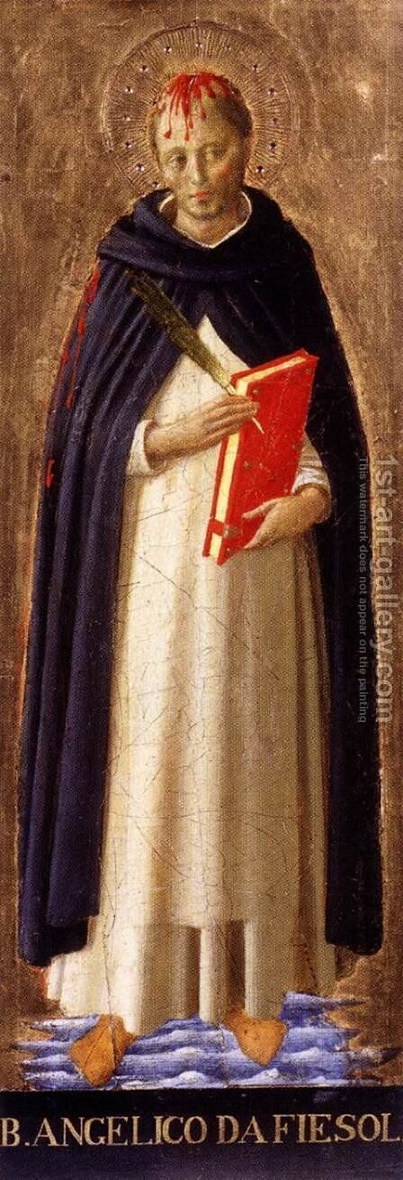 St Peter Martyr by Angelico Fra - Reproduction Oil Painting