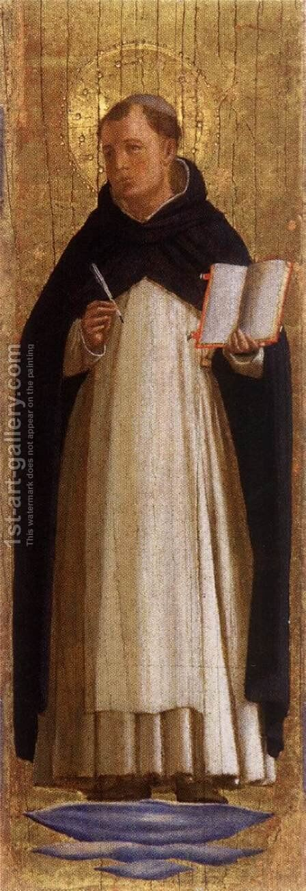 St Thomas Aquinas by Angelico Fra - Reproduction Oil Painting