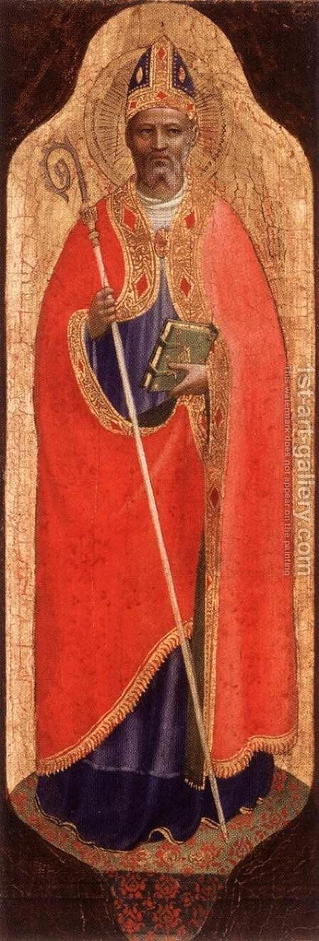 St Nicholas of Bari by Angelico Fra - Reproduction Oil Painting