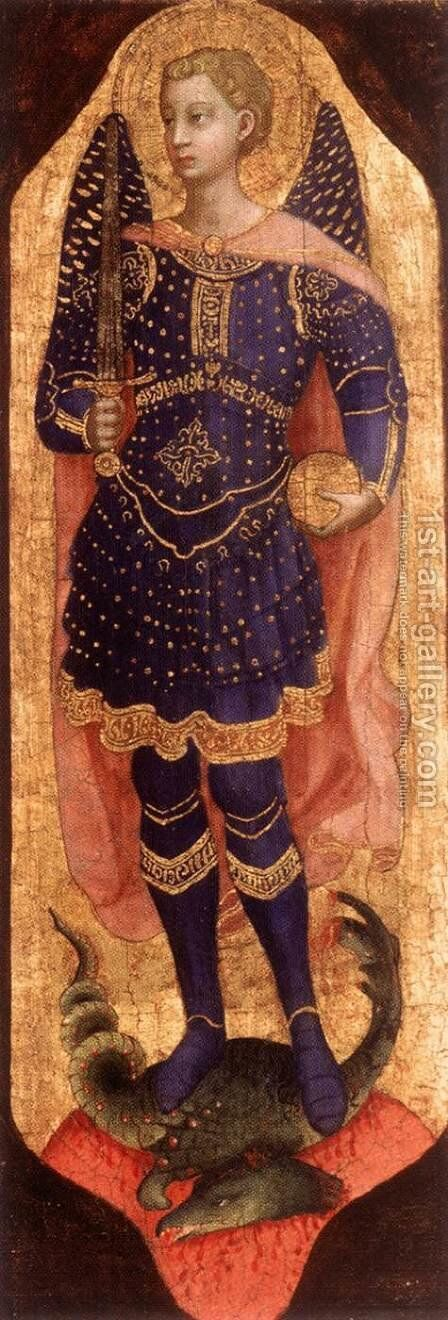 St Michael by Angelico Fra - Reproduction Oil Painting