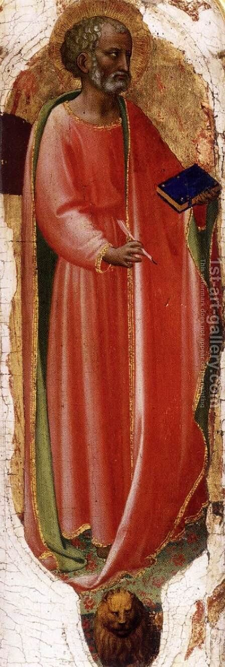 St Mark by Angelico Fra - Reproduction Oil Painting