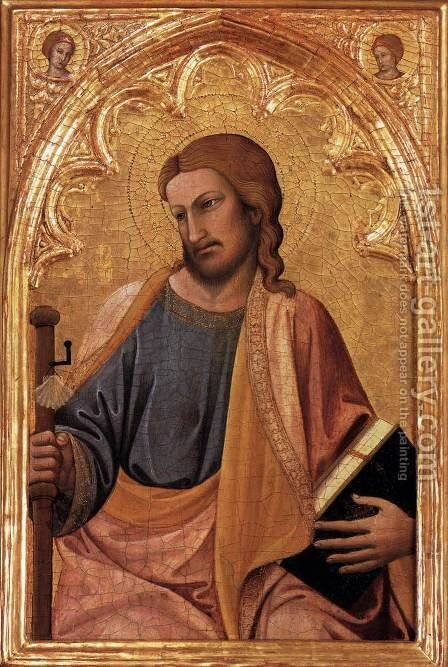 Apostle James the Greater by Antonio Veneziano - Reproduction Oil Painting