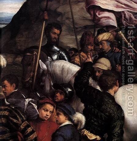 Adoration of the Kings (detail) by Jacopo Bassano (Jacopo da Ponte) - Reproduction Oil Painting
