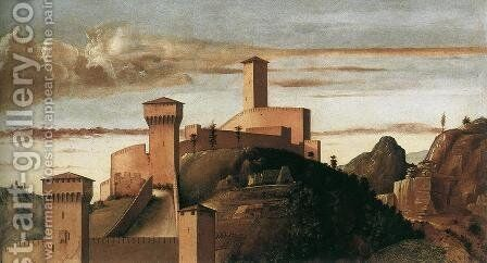 Pesaro Altarpiece (detail) by Giovanni Bellini - Reproduction Oil Painting