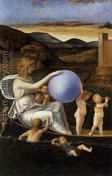 Four Allegories Fortune (or Melancholy) by Giovanni Bellini - Reproduction Oil Painting