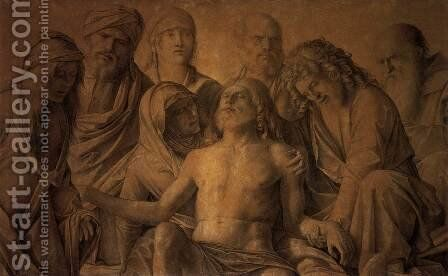 The Lamentation over the Body of Christ by Giovanni Bellini - Reproduction Oil Painting