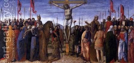 Crucifixion by Jacopo Bellini - Reproduction Oil Painting