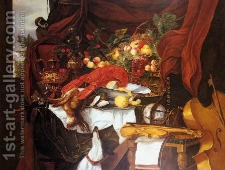Still-Life 2 by Andries Benedetti - Reproduction Oil Painting