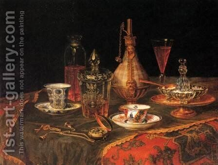 Still-Life by Christian Berentz - Reproduction Oil Painting