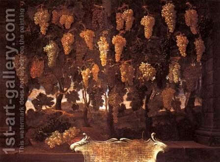 Grapes by Bartolommeo Bimbi - Reproduction Oil Painting