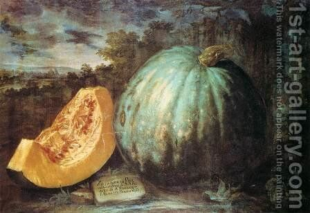 The Pumpkin by Bartolommeo Bimbi - Reproduction Oil Painting