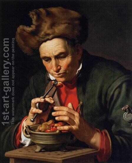 Allegory of Winter by Abraham Bloemaert - Reproduction Oil Painting