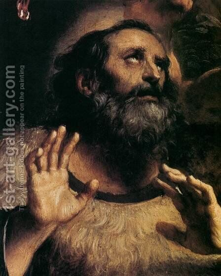 The Temptation of St Anthony Abbot (detail) by Annibale Carracci - Reproduction Oil Painting
