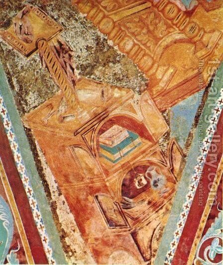 St John (detail) by (Cenni Di Peppi) Cimabue - Reproduction Oil Painting