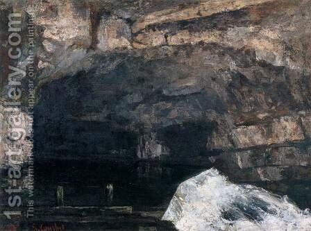 The Source of the Loue 2 by Gustave Courbet - Reproduction Oil Painting