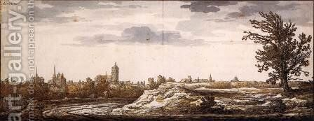 View of Arnhem by Aelbert Cuyp - Reproduction Oil Painting