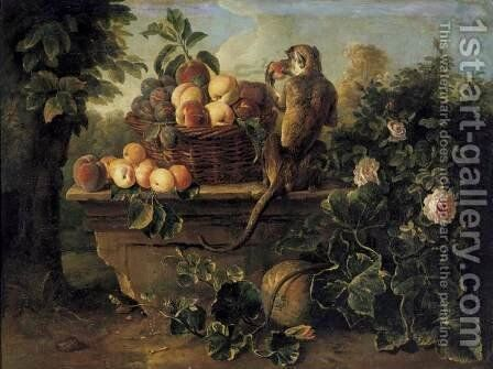 Still-Life 2 by Alexandre-Francois Desportes - Reproduction Oil Painting