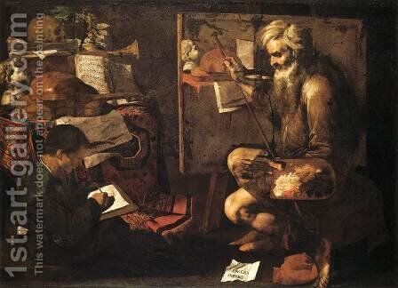 The Painter's Studio by Giovanni Do - Reproduction Oil Painting