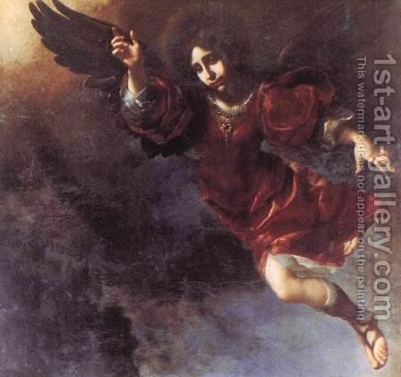 The Guardian Angel 2 by Carlo Dolci - Reproduction Oil Painting