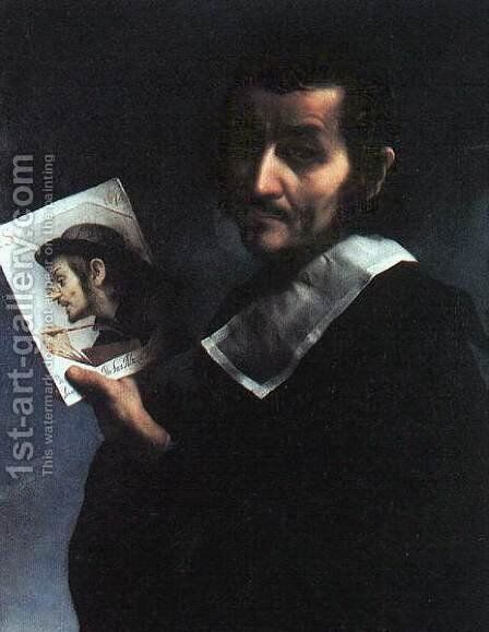 Self-Portrait 2 by Carlo Dolci - Reproduction Oil Painting