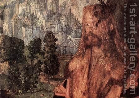 Feast of the Rose Garlands (detail) 2 by Albrecht Durer - Reproduction Oil Painting