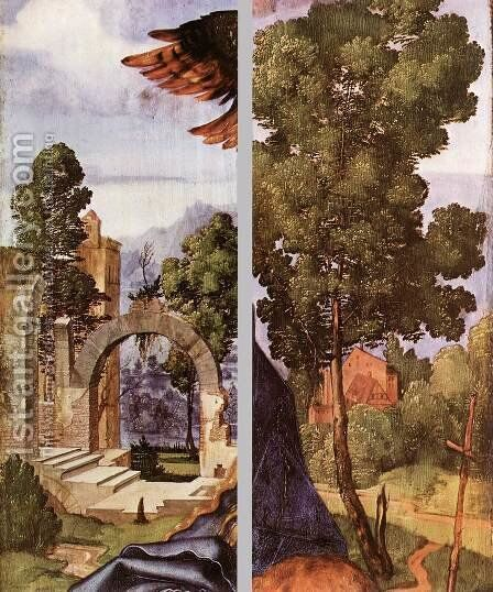 Madonna with the Siskin (details) 2 by Albrecht Durer - Reproduction Oil Painting