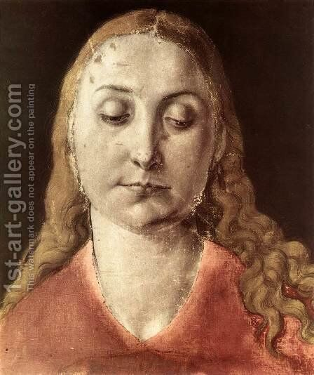 Head of a Woman 2 by Albrecht Durer - Reproduction Oil Painting