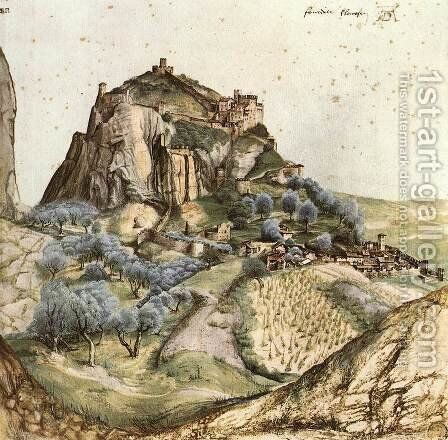 View of Arco 2 by Albrecht Durer - Reproduction Oil Painting